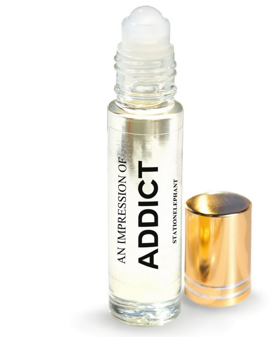 ADDICT Type Vegan Perfume Oil by StationElephant.