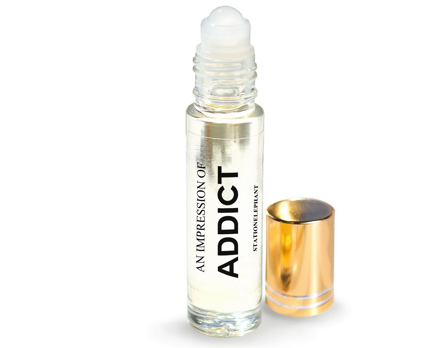 ADDICT Type Vegan Perfume Oil by StationElephant.