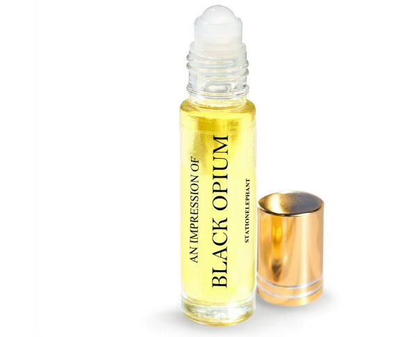 BLACK OPIUM Type Vegan Perfume Oil by StationElephant.