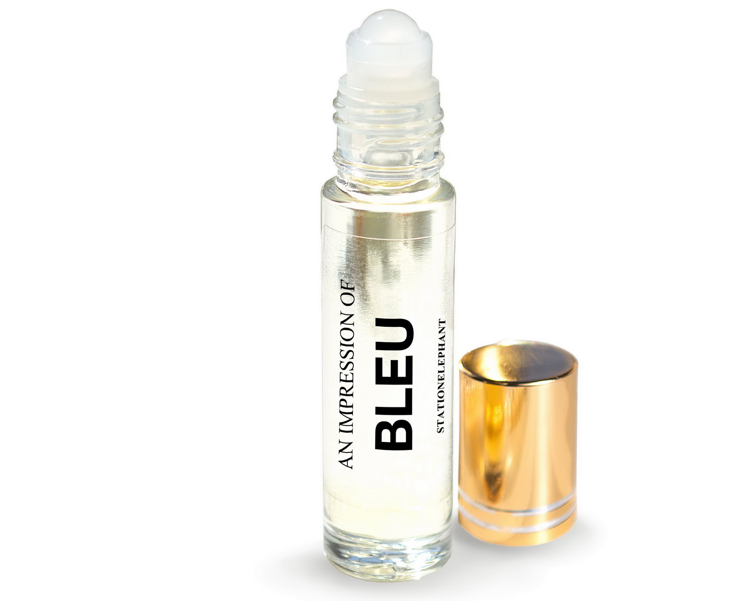BLEU Type Vegan Perfume Oil by StationElephant.