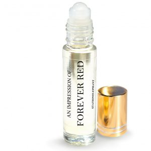 Forever Red Type Vegan Perfume Oil by StationElephant.