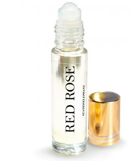 red rose Vegan Perfume Oil by StationElephant.