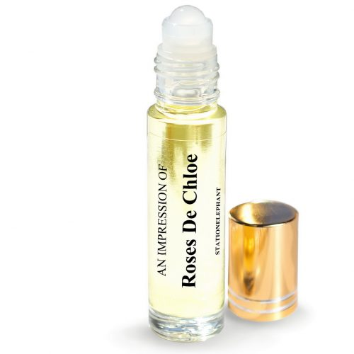 Roses de chloe Type Vegan Perfume Oil by StationElephant.