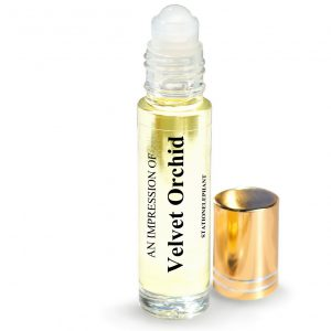 Velvet Orchid Type Vegan Perfume Oil by StationElephant.