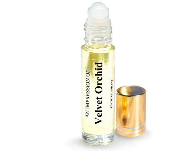 Velvet Orchid Type Vegan Perfume Oil by StationElephant.