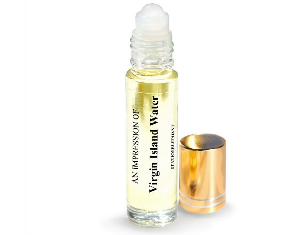 Virgin Island Water Type Vegan Perfume Oil by StationElephant.