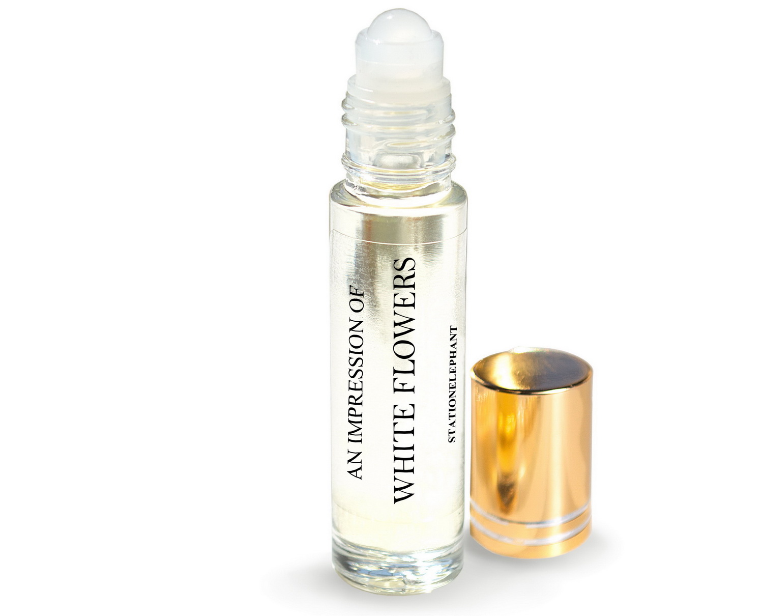 White Flower Type Vegan Perfume Oil Stationelephant